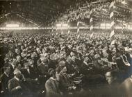 The audience in the Eisteddfod tent,  Pontypool