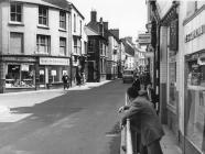 George Street, Pontypool before widening