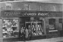 Conti cafe Clydach, c.1920