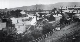 Crane Street Station, Pontypool