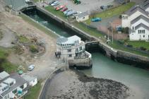 Y Feliheli (Portdinorwic) sea-lock gates