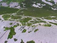 Tre'r Ceiri stone circles on top of Yr Eifl 2