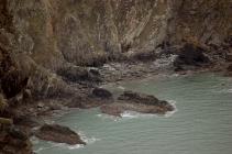 Cliff below Ellin's Twr
