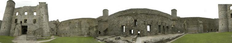 Harlech Castle pano