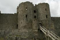 Harlech gatehouse external