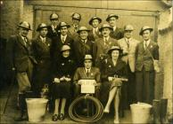 Air Raid Patrol Wardens during WW2