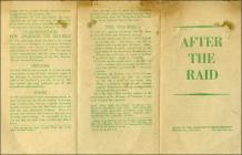 World War 2 Leaflet - After the Raid