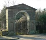 The Gates to Wynnstay Hall