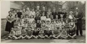 Chancery School Llanfarian c.1959