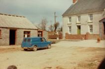 Blue mini – Blaenrhyderwen, Synod Inn, 1980