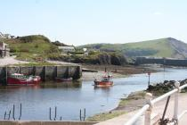 The Harbour at Aberystwyth