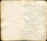 Edgar Wynn Williams Diary, 21 Jan - 4 Feb 1916