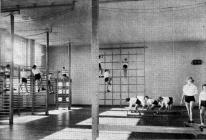 Dinas School opening 1955