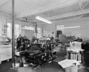 Gwasg Gee printing works, Denbigh
