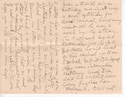 WW1 letter 7 Oct 1918 (2/2)