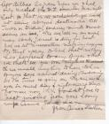 WW1 Letter 25 Oct 1918