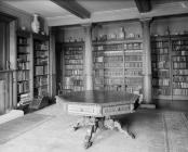 Broughton Hall library, 1956