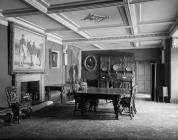 Broughton Hall dining room, 1956