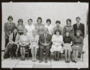 Maenofferen School staff, Blaenau Ffestiniog