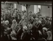 Service Ebeneser Chapel, Blaenau Ffestiniog
