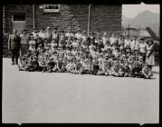 School photograph, Blaenau Ffestiniog