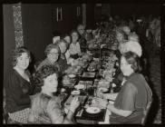 Celebration dinner, Blaenau Ffestiniog