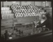 S4C recording, Blaenau Ffestiong