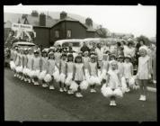 Miss Blaenau 1968 parade, Blaenau Ffestiniog