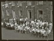 Dorvil Street party, Blaenau Ffestiniog