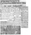 news clippings about Unemployed March to...