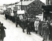 Unemployed March to Caernarfon 1958