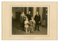 Wedding of Anna Evans and John Jacob Jones