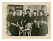 Women in WRVS uniforms in Bangor