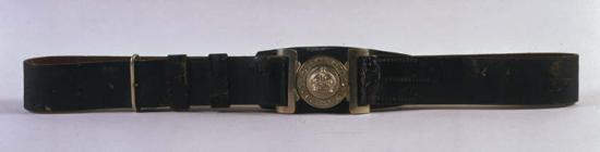 Radnorshire Constabulary belt, c. 1920s [image...