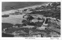 Abandoned village of Nant Gwrtheyrn c1975