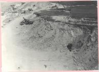 Highest bank of the quarry c1950