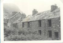 The abandoned village of Nant Gwrtheyrn c1975