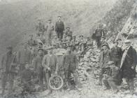 Early quarrymen of Porth y Nant c1880
