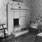 Interior of house on Council St, Ebbw Vale, 1959