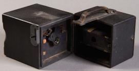 Fingerprint camera interior showing lens and...