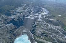Aerial view of Penrhyn Slate Quarry, 1994
