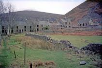 Nant Gwrtheyrn in ruins c1970s