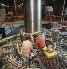 Construction at Dinorwig power station, 1982