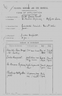 Application from nurse Edith Cavell for a post...