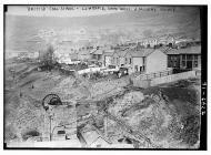 British coal strike - Llwynpia, South Wales. A...