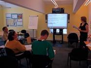 Welsh language class Nant Gwrtheyrn 2010