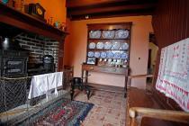 marketing photos of interior of museum cottage