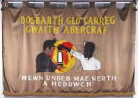 Banner of Abercrave Lodge of the National Union...