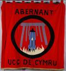 Abernant miner's banner, 1984 [reverse...