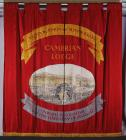 Banner of the Cambrian Lodge of the National...